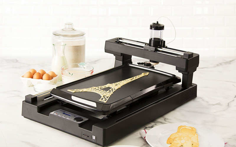 World's first 3D printed pancake maker is now available for purchase