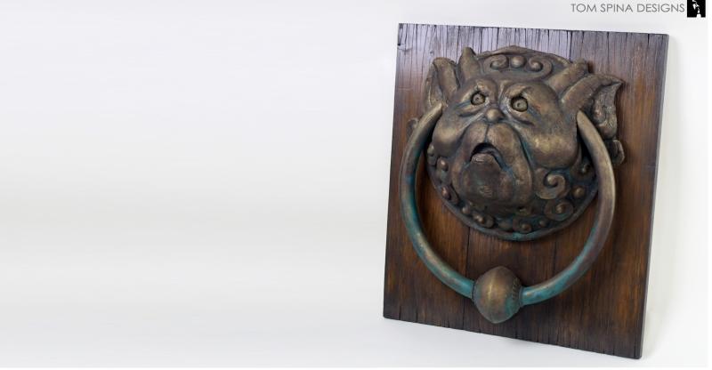 labytrinth door knockers