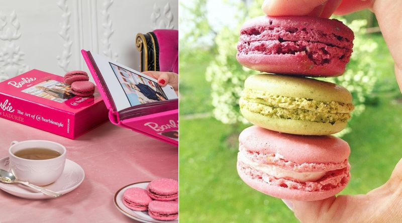 Macaron ice cream sandwich by Laudree