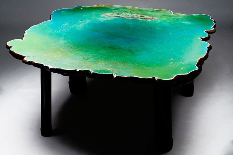 Ocean table by Gaetano Pesce