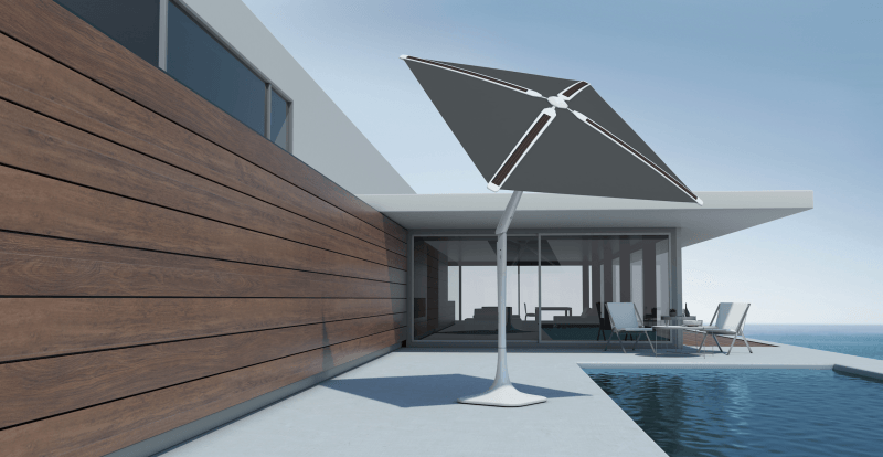 Shadecraftu0027s Solar Smart Patio Umbrella Has Built In Cameras To Click Photos
