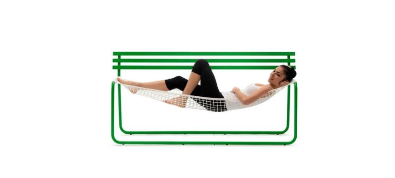 self supporting bench hammock