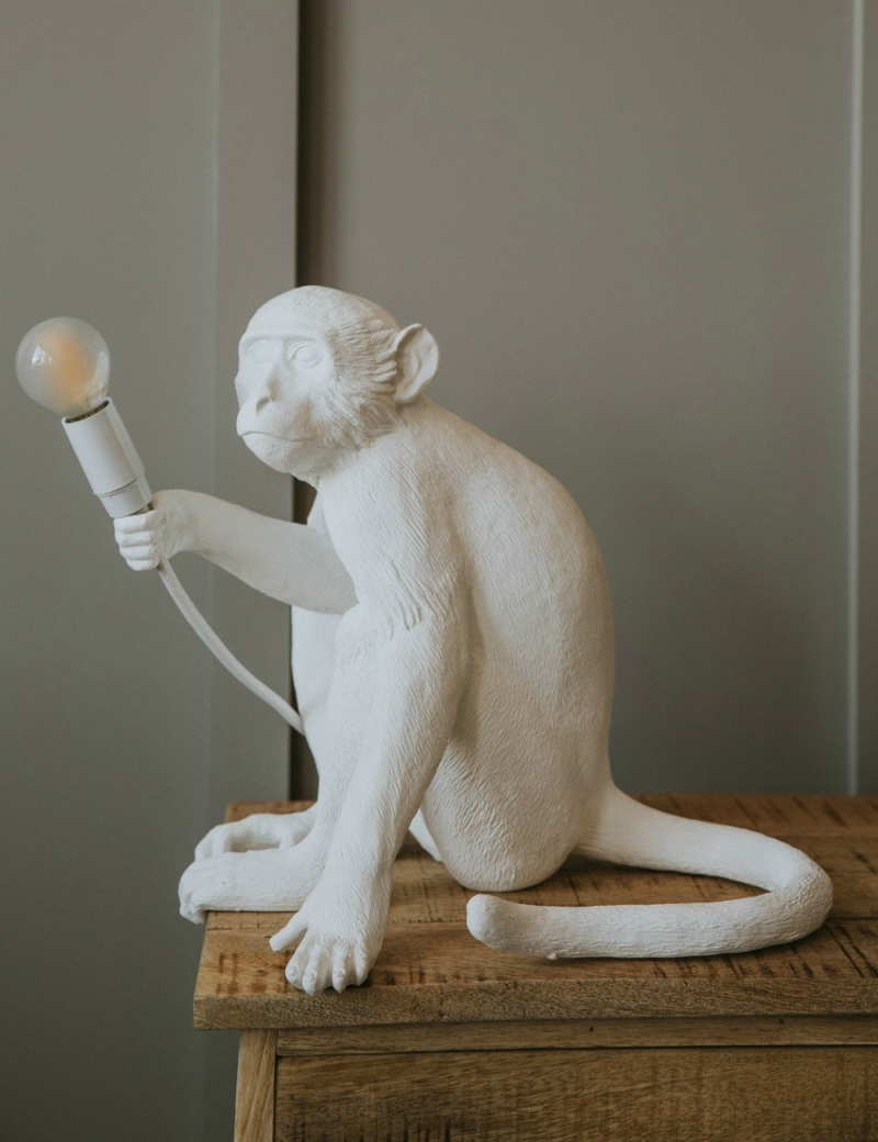 Light Up Your Home With The Monkey Lamp By Seletti