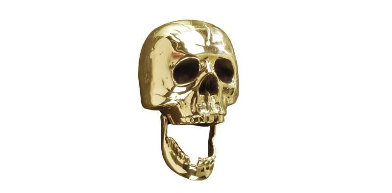 skull door knockers