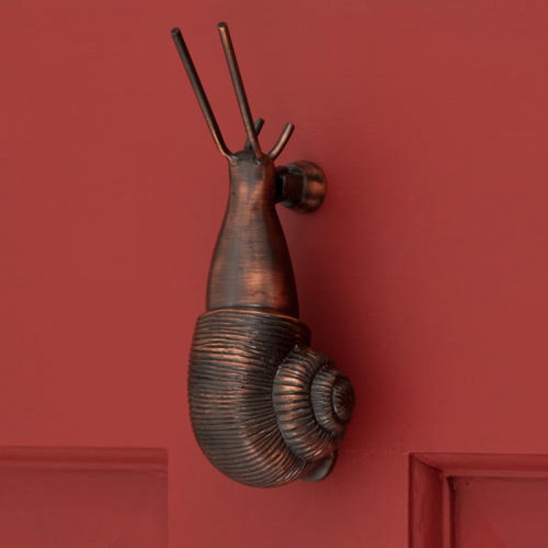 snail door knockers