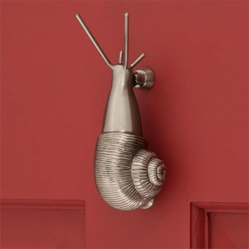 snail door knockers
