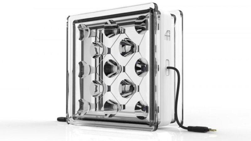 solar squared glass building blocks