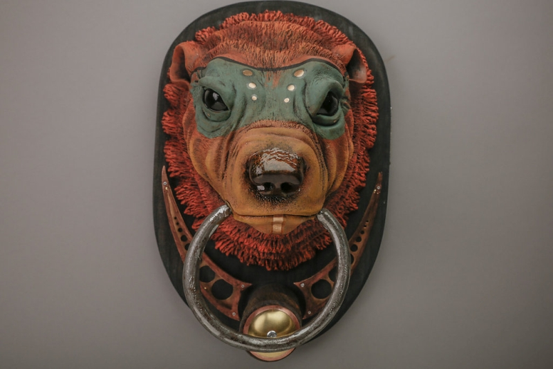 #5 Sun Bear Door Knocker Is Something That Will Totally Change The Look And  Feel Of Your Front Door. As The Name Suggests, It Looks Like A Bear.