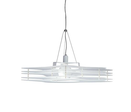 Acrylic plastic cloud pendant lamp