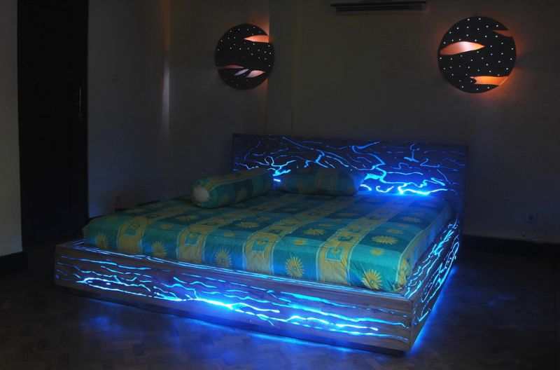 Fantastic 30 Glow In The Dark Furniture To Enlighten Your Spirits Pabps2019 Chair Design Images Pabps2019Com