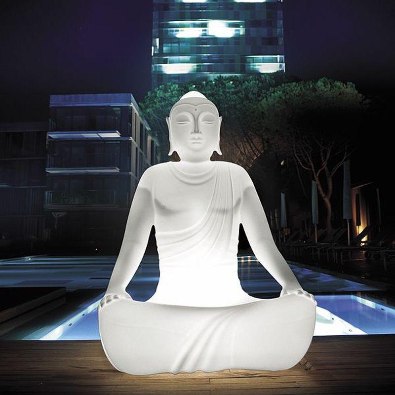 Sereno illuminated outdoor armchair