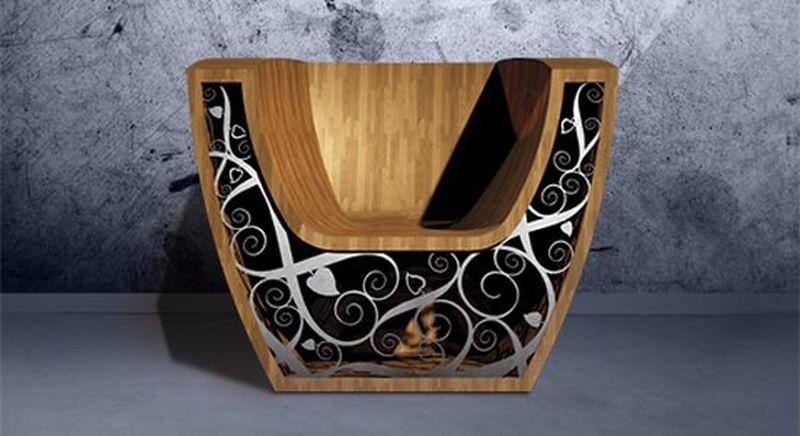 Illuminating chair by Valuma