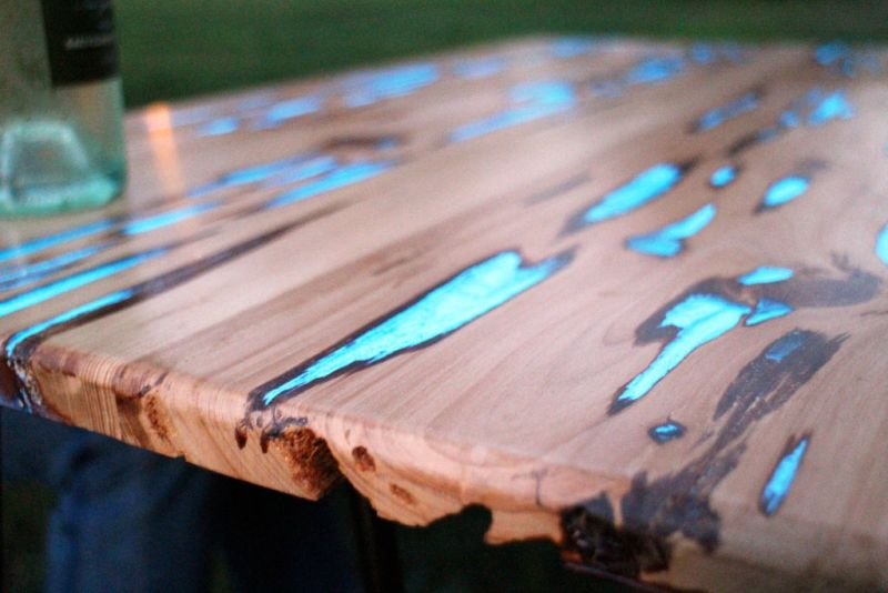 Bright Wood Coffee Table