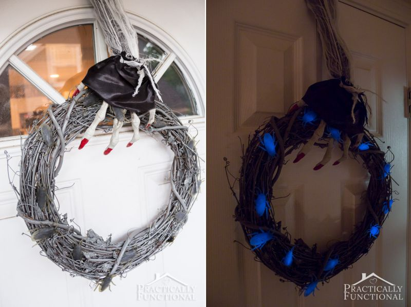 Glow in the dark wreath