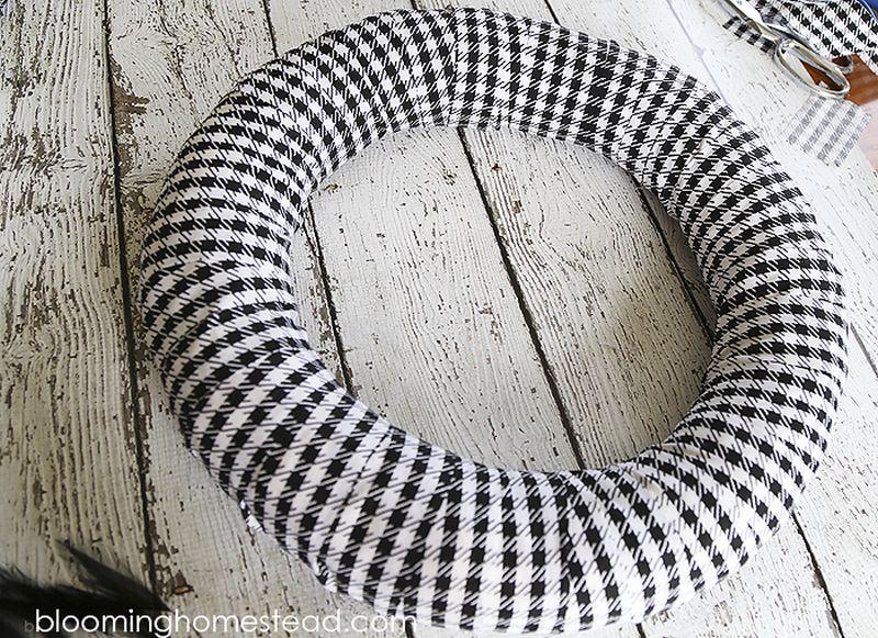 Halloween Funky Fabric wreath