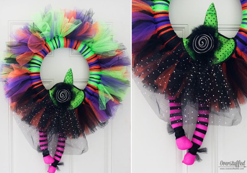 Tulle Witch wreath
