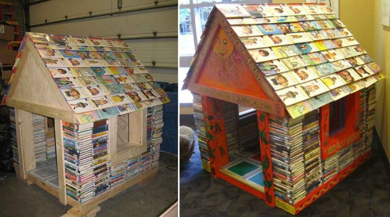 Playhouse made up books