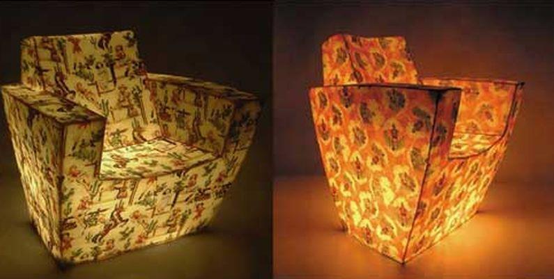 Glow in the dark: Eudora Fiberglass chair