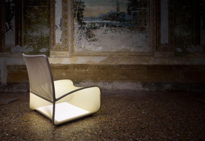 Nuvola Di Luce self-illuminating chair
