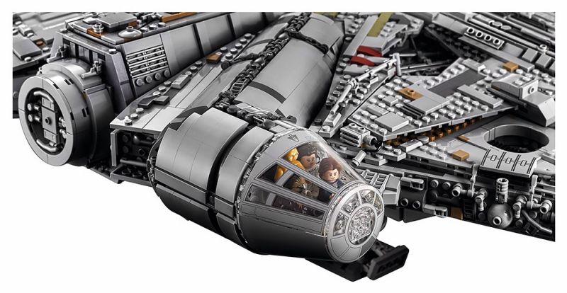 7,541-piece Millennium Falcon