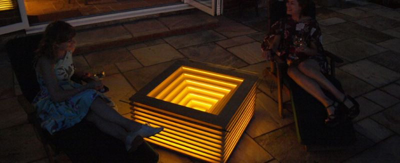 Sqill Illuminating Table by Clay Design