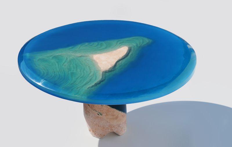 Azzuro Table by Eduard Locota