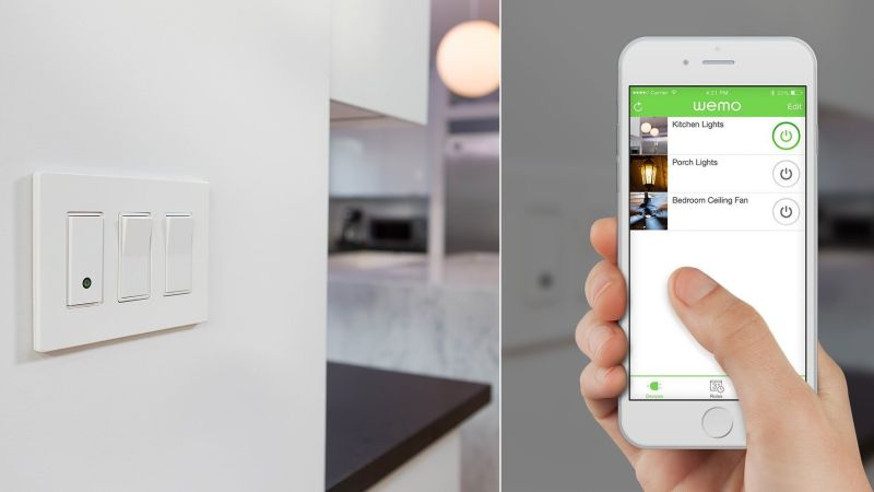 Belkin WeMo Light Switch WiFi connected