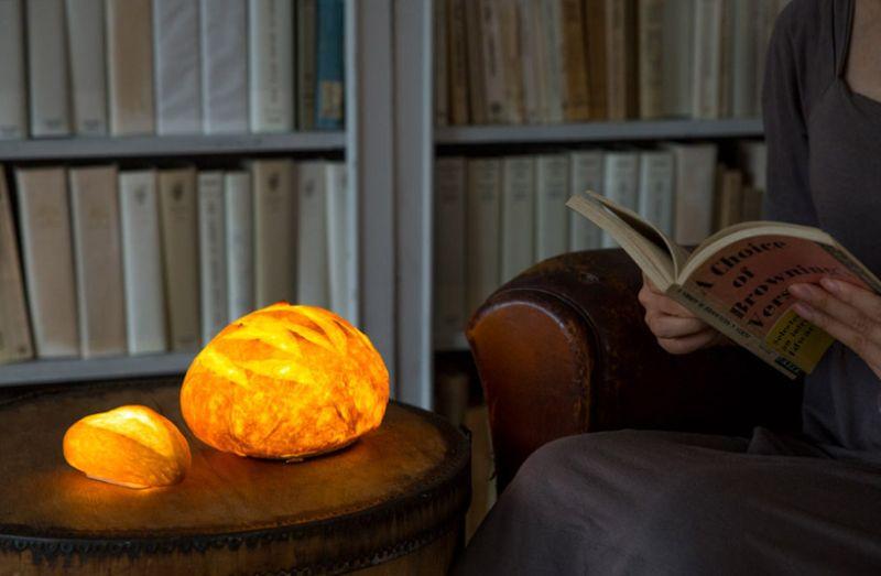 Yukiko Morita designed bread lamps for maison et objet fall 2017