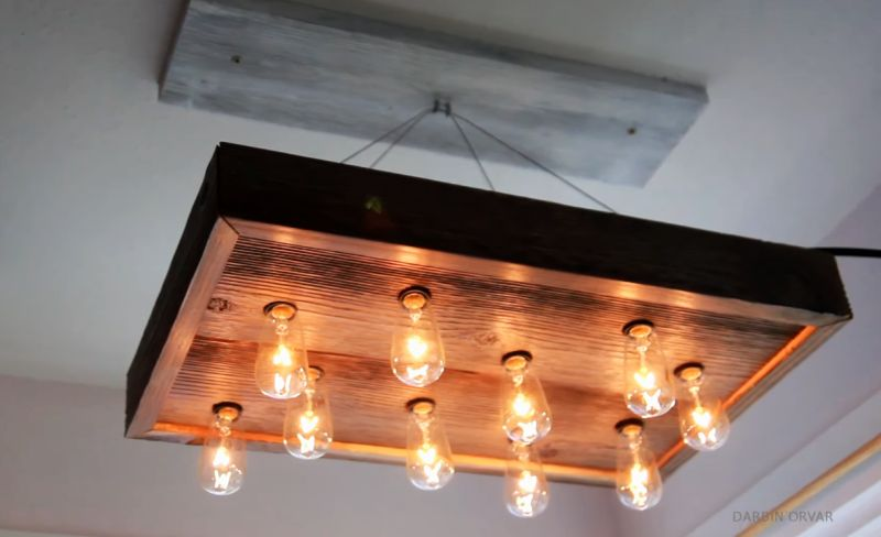 DIY-Chandelier-made-of-reclaimed-wood