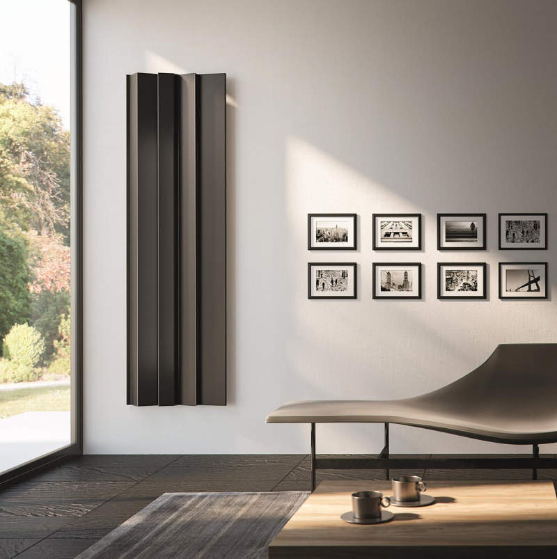 Daniel Libeskind's Android radiator for Antrax IT fuses functionality with design
