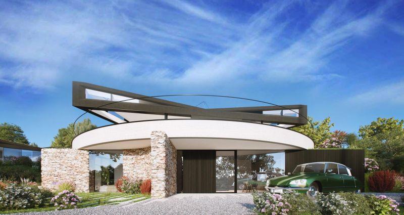 Devon Haus has a rotating roof that follows the sun
