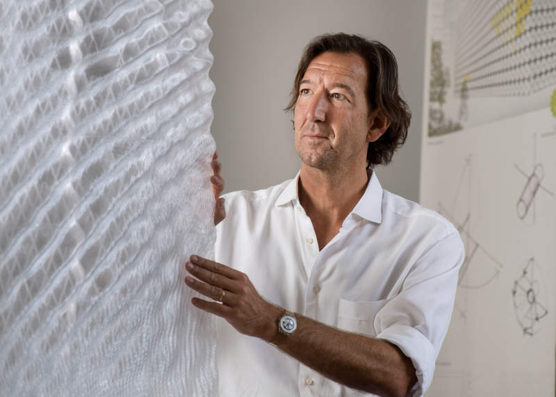 Munich University researchers develop translucent 3D-printed building façade for ventilation, insulation and shading