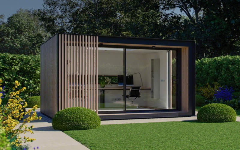 Glide Pod Prefab Backyard Cabin By Pod Space Is Winner Of Red Dot Product  Design Award