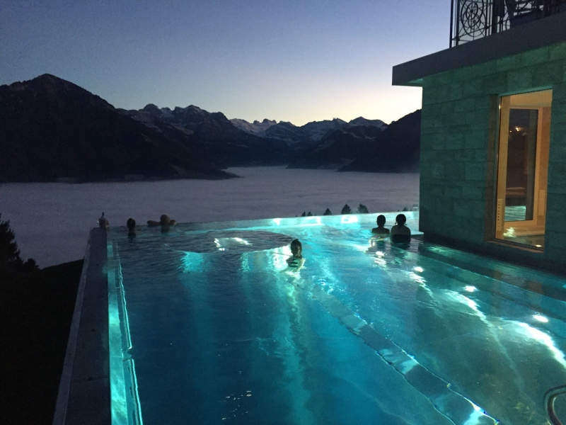 Hotel Villa Honegg Switzerland