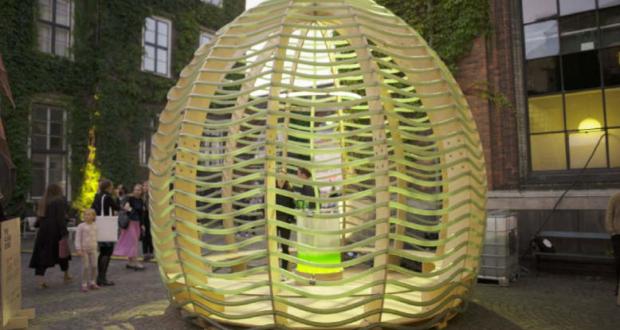 Ikea S Future Living Lab Designs Algae Dome That Produces