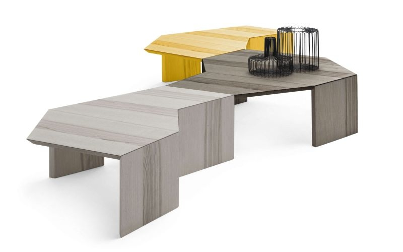 Jeeg modular table can be reconfigured to diversify your work routine