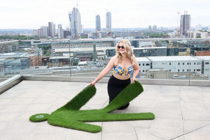 Lawnsie portable lawn
