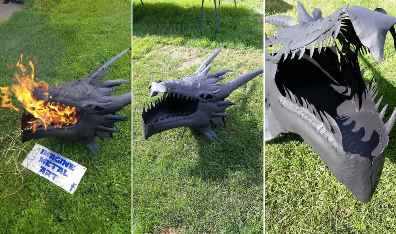 Lord of the rings Fire Pits: Imagine Metal Art