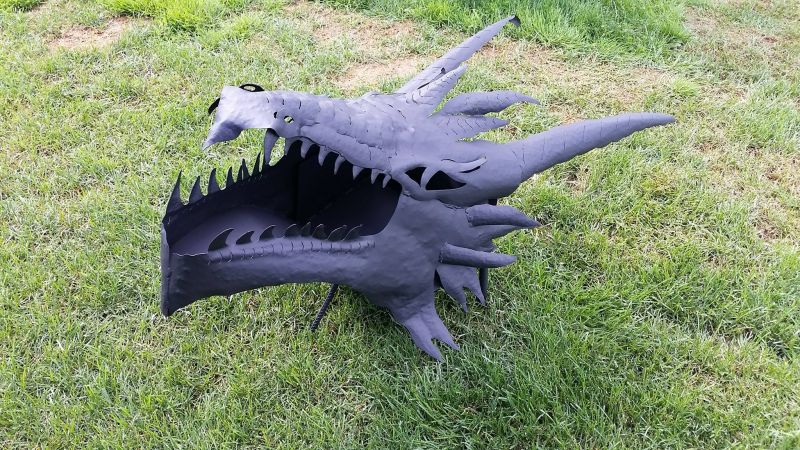 Lord of the rings Dragon Fire Pits by Imagine Metal Art