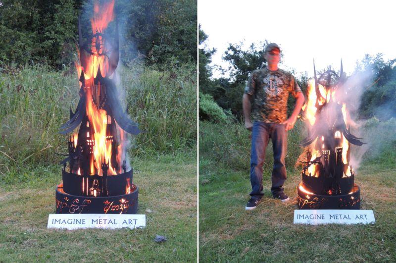 Fire Pits Imagine Metal Art