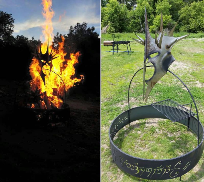 Fire Pits Imagine Metal Art Lord of the rings
