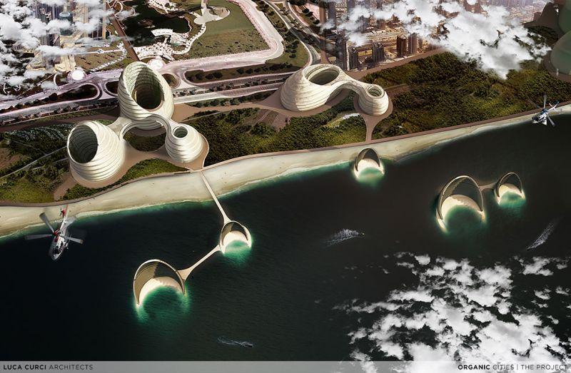 Luca Curci Architects Organic Cities
