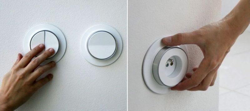 Lumen Circular Switches by by Magdaléna Curdová & Tereza Matyášková