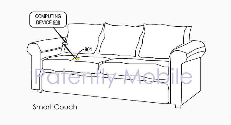 Microsoft's smart sofa with deformable sensors will serve as an activity tracker