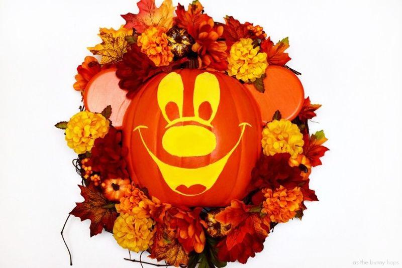 Not-So-Scary Mickey Halloween Wreath