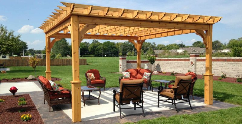 Outdoor Pergola for home