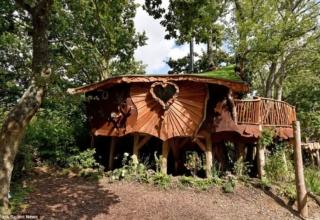 Piggledy Treehouse by Eva Johnson