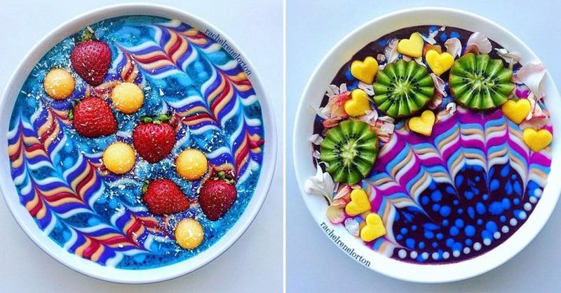 Arty smoothie bowls