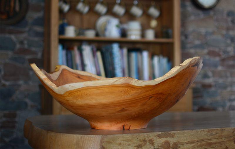 Reclaimed wood Bowl