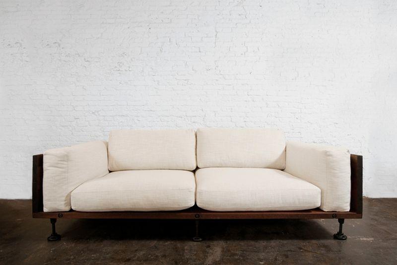 Reclaimed wood for living room